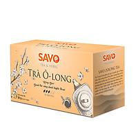 Trà SAVO Ô-Long ( Roasted Oolong Tea) - Hộp 25 túi x 2g