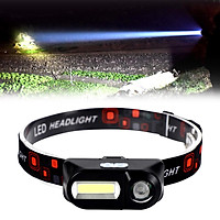 LED Outdoor Headlight Waterproof 6 Modes Outage Fishing Head Torch Headlamp