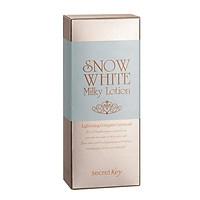 Sữa dưỡng thể dưỡng trắng da Secret Key Snow White Milky Lotion 120g