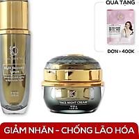 Combo dưỡng da chuyên sâu KimKul gồm Serum Night Recovery 60ML + Face Night Cream 30G
