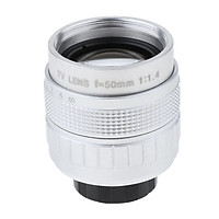 Camera Assembly Kits for Canon EOS M ( 50mm f/1.4 TV Lens + C-mount Adapter + Macro Rings )