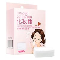 Bông Tẩy Trang Cotton Bioaqua 100 Miếng