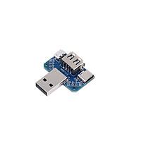 Cổng Kết Nối Chuyển Đổi 4 In 1 USB2.0(Male / Female) / Micro USB / USB-C