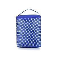 Túi giữ nhiệt chấm bi mẫu nhỏ pl