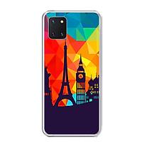 Ốp Lưng Điện Thoại Samsung Galaxy Note 10 Lite - Silicone Dẻo - 01277 0151 TRAVELLING01 - Hàng Chính Hãng