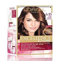 Kem Nhuộm Dưỡng Tóc Phủ Bạc L'oreal Excellence Cream 172ml - Màu 6.35 Nâu Socola