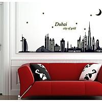 Decal dán tường Dạ quang Dubai AmyShop DDQ001 (65 x 155 cm)