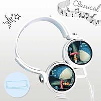 Tai nghe Totoro anime chibi  thiết kế thông minh cá tính cắm dây có mic