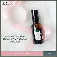 Toner Rose De Scena - Chiết xuất hoa hồng Damascena hữu cơ - Dạng Xịt (50ml) - Dịu nhẹ, không chứa cồn