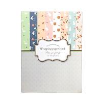 Tập Giấy Gói Quà Họa Tiết Dễ Thương Wrapping Paper Book 16P-21402