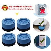 Bộ 4 Chân Kệ Máy Giặt giúp chân máy giặt không rung lắc Chống Rung, Chống Ồn
