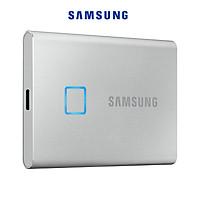Ổ Cứng Di Động SSD Samsung T7 Touch USB Type C 3.2 Gen 2 MU-PC - Hàng Nhập Khẩu