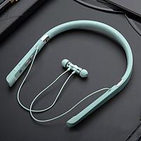 Tai nghe bluetooth thể thao đẳng cấp phong cách Hàn Quốc - MINI GOOD EM166 Xanh nhạt - Hàng nhập khẩu