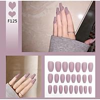 Bộ 24 móng tay giả nail thơi trang như hình (F125)