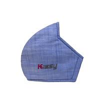 Khẩu trang vải 3 lớp Kissy người lớn chống nắng và chống bụi mịn hiệu quả - ĐƯỢC BỘ Y TẾ KHUYÊN DÙNG
