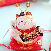 Mèo Thần tài Jinshi Mũ quan