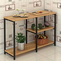Kệ nhà bếp,kệ nhà bếp thông minh,kệ để đồ nhà bếp,kệ bếp thông minh đa năng,giá để đồ nhà bếp, kệ lò vi sóng 159-2
