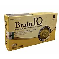 Thực phẩm chức năng Brain IQ tăng cường tuần hoàn não, dưỡng tâm an thần giúp ngủ ngon cải thiện trí nhớ