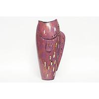Bình hoa con cá gốm sơn mài Bát Tràng - Lộc bình, Dòng gốm sơn mài hiện đại, đẳng cấp - Gốm trang trí trưng bày cửa hàng, khách sạn, phòng khách