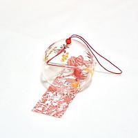 Chuông gió cá đỏ furin Nhật Bản xinh xắn pha lê tặng ảnh Vcone