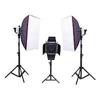 Bộ Đèn Kit Studio F800-F300 - 1900W (3 đèn) - Hàng nhập khẩu
