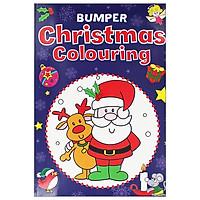 Bumper Christmas Colouring: Blue