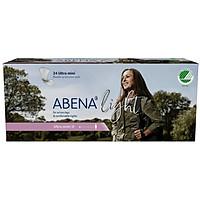 Băng vệ sinh hằng ngày Abena Light Ultra Mini 0 (100ml) (24 miếng)
