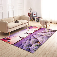 Thảm trải sàn in 3D - Thảm trải phòng khách - Phòng ngủ - Sang trọng - Lịch lãm TN013