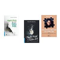 Combo 3 cuốn sách:  Hạnh Phúc Đến Từ Sự Biến Mất + Muôn Kiếp Nhân Sinh + Bảy quy luật tinh thần của thành công (Tái Bản)