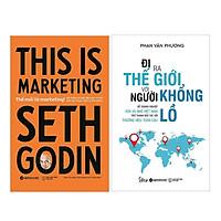 Combo Sách Kinh Doanh -  Marketing: Thế Mới Là Marketing + Đi Ra Thế Giới Với Người Khổng Lồ