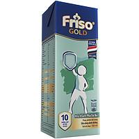 Lốc 4 Hộp Sữa Bột Pha Sẵn Friso Gold Vani (4 x 180ml)