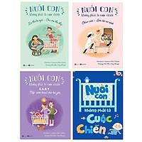 Combo sách nuôi con không phải cuộc chiến (bộ 4 cuốn) tặng cuốn truyện song ngữ chú bé bánh gừng