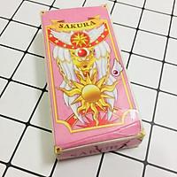 Bộ bài màu hồng SAKURA 56 lá