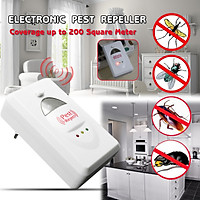 Ultrasonic Electronic Pest Repeller Control Mosquito Bug Rat Spider Cockroach Rodent Mouse Reject Repellent