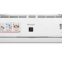 Máy lạnh Sharp Inverter 1.5 HP AH-XP13WHW Mẫu 2019 - Hàng Chính Hãng