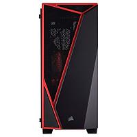 Thùng MáyCorsair Carbide Spec-04 Mid-Tower Termpered Glass, Black & Red_CC-9011117-WW - Hàng Chính Hãng