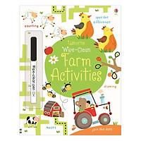 Sách tẩy xóa tiếng Anh - Usborne Farm Activities