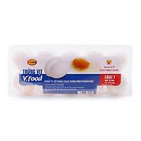 [Chỉ Giao HCM] - Trứng Vịt loại 1 - hộp 10 trứng