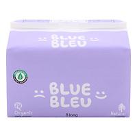 Băng Vệ Sinh Trong Chu Kỳ Blue Bleu Từ Sợi Bông Hữu Cơ Và Tinh Dầu Cây Bách Siêu Mỏng, Có Cánh (28cm)