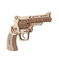 Mô hình lắp ghép 3D bằng gỗ - Revolver - cắt laser