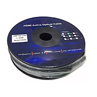 CÁP HDMI Kingmaster 2.0 ( 40m) Active Optical KH 258,CÁP HDMI 40M CÁP QUANG CHUẨN 2.0-HÀNG CHÍNH HÃNG