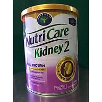Sữa Kidney 2 400g của NutriCare - Chế độ ăn giàu Protein cho NGƯỜI CHẠY THẬN