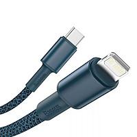 Cáp sạc Baseus hỗ trợ sạc nhanh PD20W Type-C to Lightning chất liệu Nylon cao cấp cho iPhone ( Nhiều màu ) - Hàng chính hãng