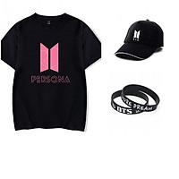Combo mũ áo vòng tay BTS