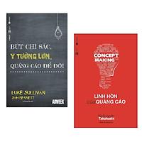 Combo Sách Marketing Cực Hay: Linh Hồn Của Quảng Cáo + Bút Chì Sắc, Ý Tưởng Lớn, Quảng Cáo Để Đời ( Tặng Kèm Bookmark Happy Life)