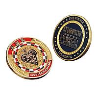 Vàng Tấm Đồng Tiền Kỷ Niệm Câu Lạc Bộ Trò Chơi Poker Chip Sưu Tầm