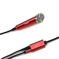 Microphone Dành Cho Iphone Mini RMK-K01 Remax-Tặng Gía Đỡ Điện Thoại-Hàng Chính Hãng - đỏ