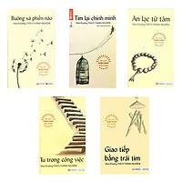 Combo 5 cuốn sách Phật Pháp Ứng Dụng-Thích Thánh Nghiêm ( Tu Trong Công Viêc+ Tìm Lại Chính Mình+ Giao Tiếp Bằng Trái Tim+ Buông Xả Phiền Não+An Lạc Từ Tâm)