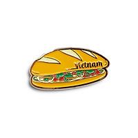 Huy hiệu lưu niệm Việt Nam (Lapel Pin) - Bánh mì