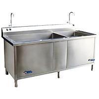Máy rửa bát siêu âm công nghiệp cho nhà hàng, trường học SA2B